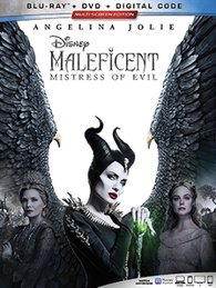 MALEFICENT: MISTRESS OF EVIL Blu-ray box art