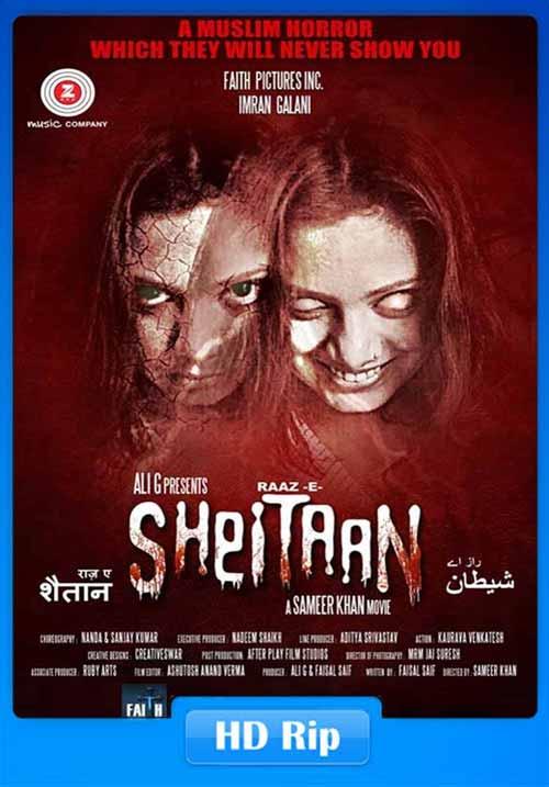 Raaz-E-Sheitaan 2019 Hindi 720p HDTV x264 | 480p 300MB | 100MB HEVC Poster