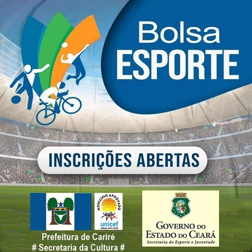 Em Cariré já estão abertas as inscrições para o projeto Bolsa Esporte até o dia 29 de janeiro