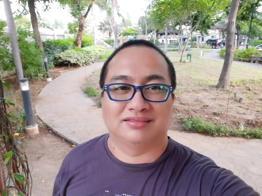 Samsung Galaxy M31 Camera Sample - Selfie, Wide