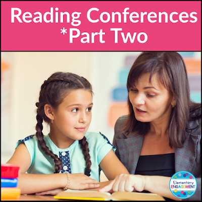This post shares forms and strategies to help teachers prepare for independent reading conferences.