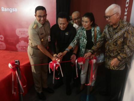 Anies Resmikan Bioskop Rakyat yang Hadirkan Kesetaraan Bagi Masyarakat Jakarta