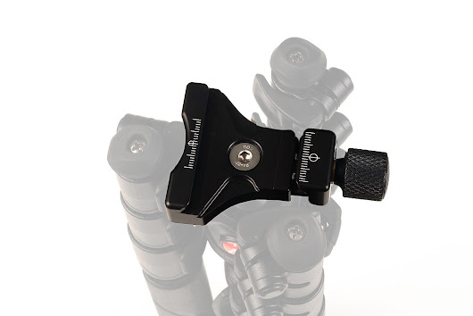 Innovative Hejnar Photo QR Clamp for Manfrotto BeFree Tripod - Preview