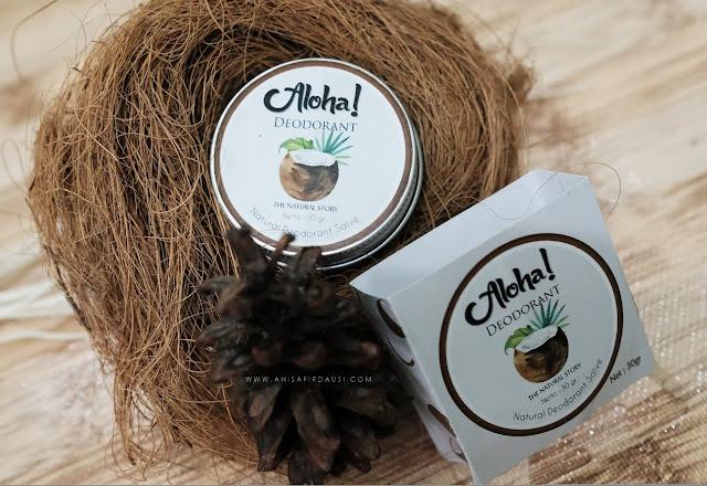 Review Aloha Deodorant, Deodorant Organik Untuk Ibu Hamil