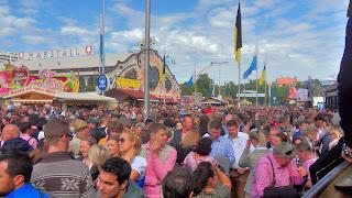 Pierwszy dzień Oktoberfestu