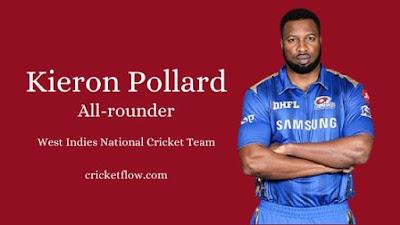 Kieron Pollard Batsman West Indies National cricket Team