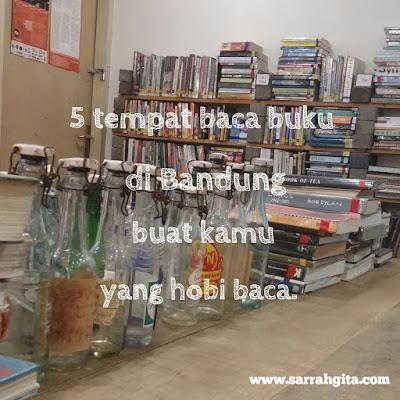 tempat baca buku di bandung