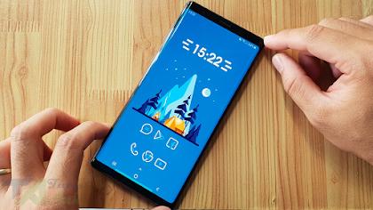 Cách cài giao diện màu xanh cực chất trên Android