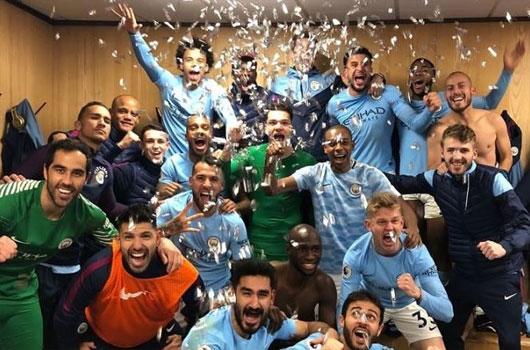 Đả bại M.U, sao Man City ăn mừng như vô địch 1