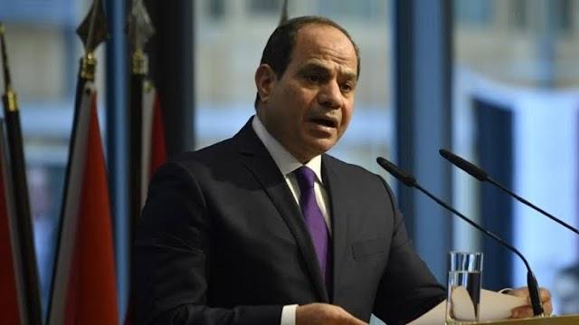 شاهد كلمة الرئيس السيسي اليوم أن مصر وليبيا بلد واحدة