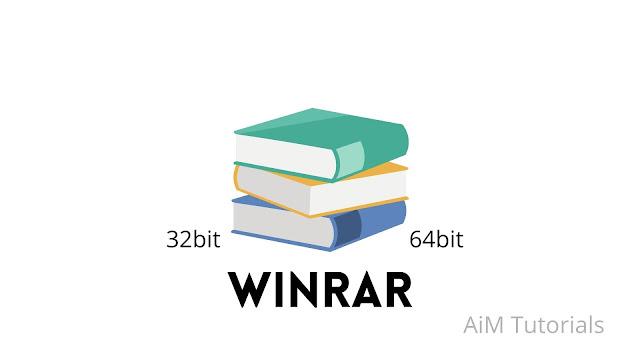 WinRAR 32bit & 64bit free download