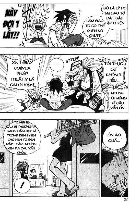 Shaman King [Vua pháp thuật] chap 9 trang 20
