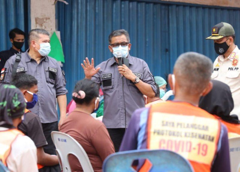 Jefridin Kepada Masyarakat: Sayangi Diri, Keluarga dan Orang Sekitar dengan Memakai Masker di Luar Rumah