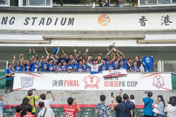 Kitchee beat Southern to claim the Hong Kong FA Cup title