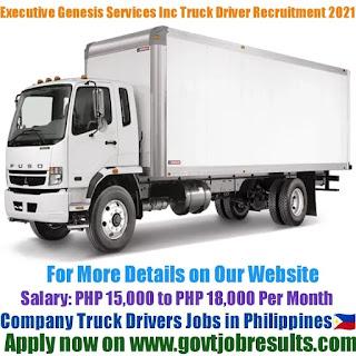 Executive Genesis Services Inc Company Truck Drivers Recruitment 2021-22
