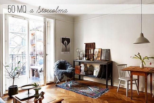 Arredare piccoli spazi appartamento a stoccolma home for Arredamento per piccoli spazi