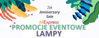 Urodziny Aliexpress - Promocje na lampy :)