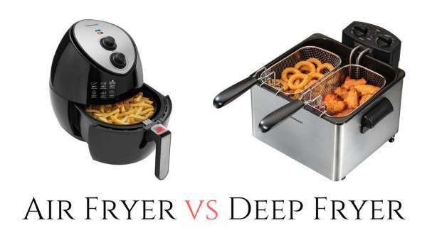 Perbedaan air fryer vs deep fryer