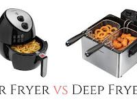 Perbedaan Antara Air Fryer dan Deep Fryer