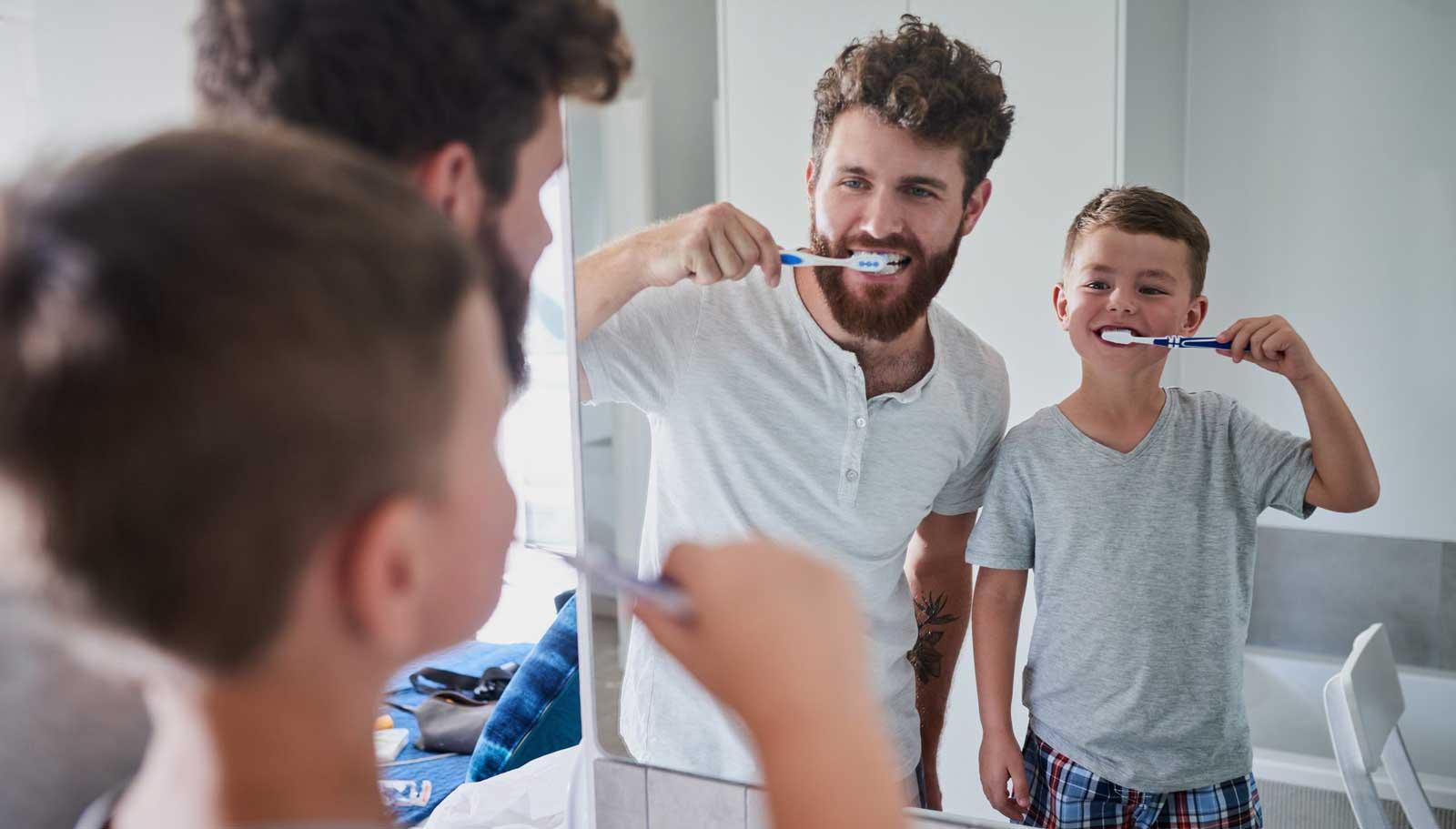 la bonne façon de se brosser les dents