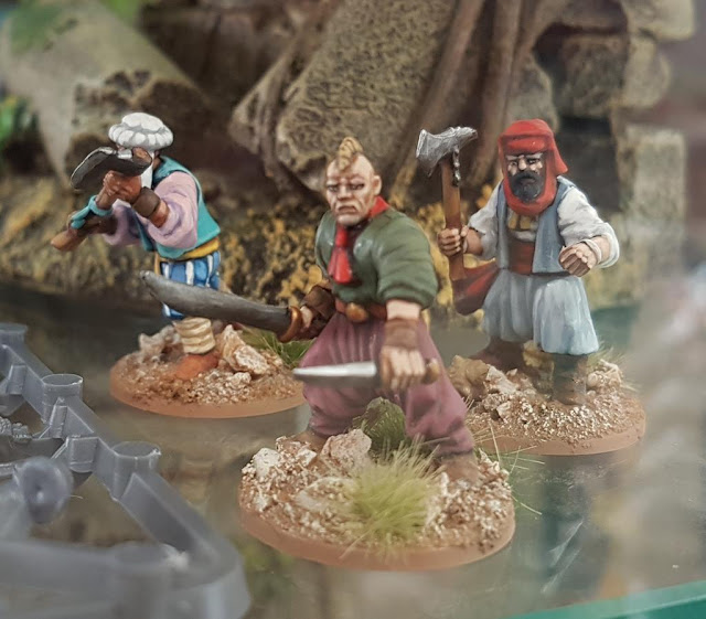 Osprey Games: New Frostgrave - Ghost Archipelago Painted Heritor Crew Miniatures