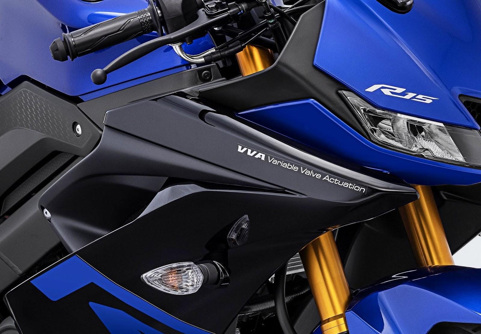 Yamaha Indonesia resmi merilis warna dan striping baru untuk All New R15 V3 2019