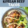 KOREAN BEEF TACOS
