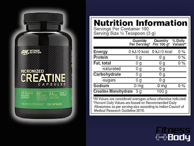 كرياتين on , الكرياتين مونوهيدرات من شركة Optimum Nutrition