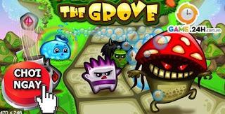 Chơi game khu vườn quái vật