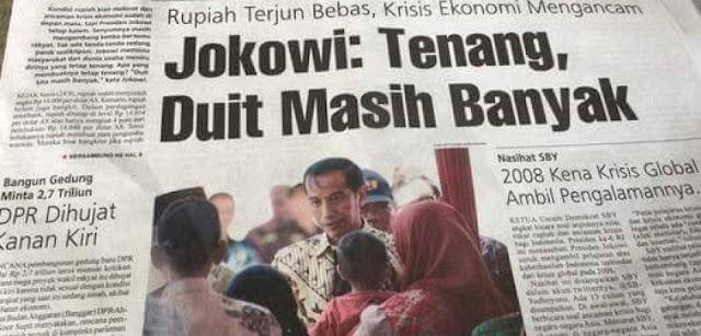 Ka'ban: Tiap Hari Jokowi Nambah Utang Rp.1,1 Triliun