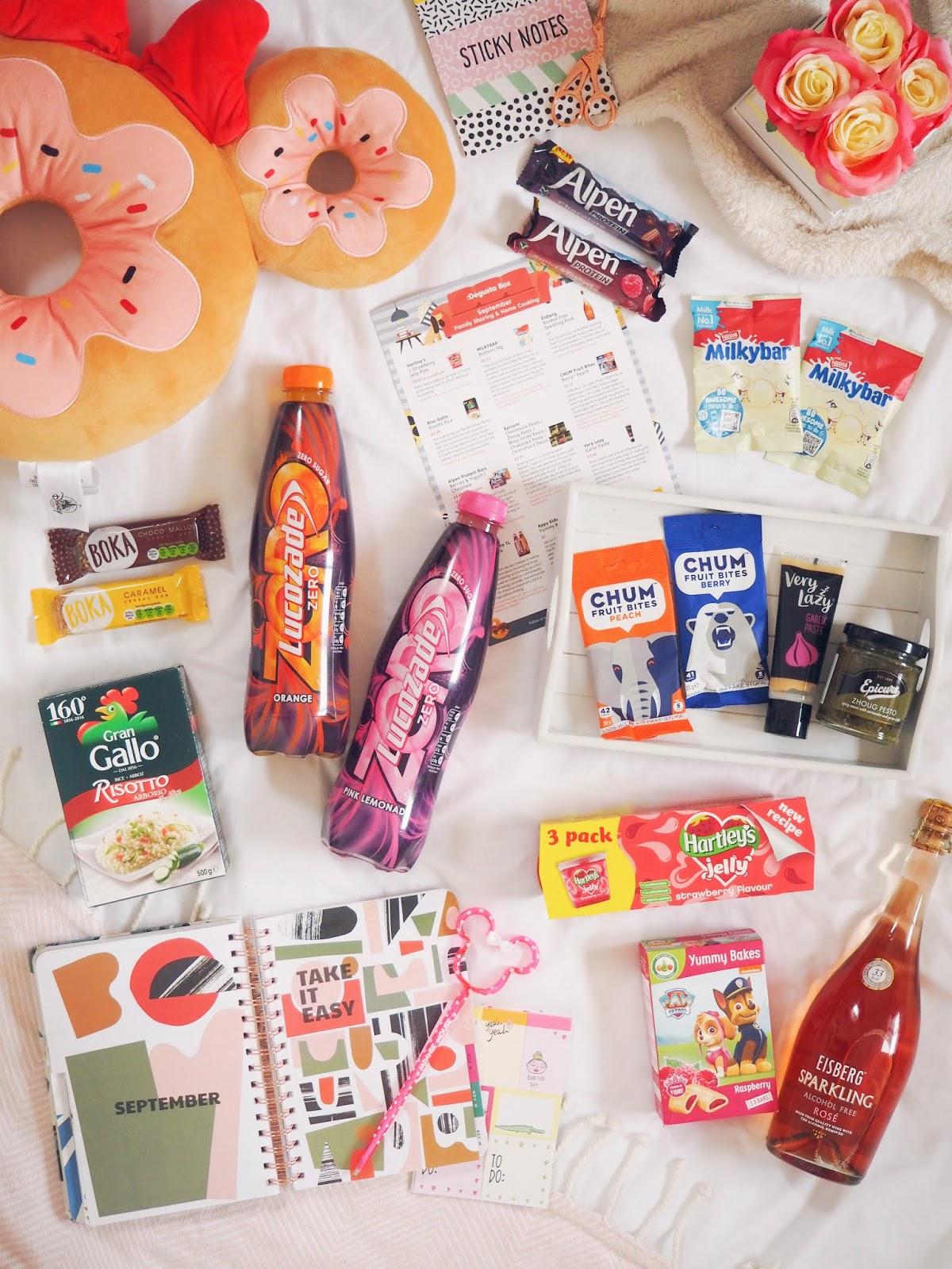 September Degusta Box: Family Sharing & Home Cooking