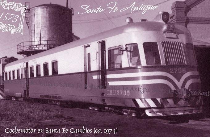 El Cochemotor Ganz en Santa Fe