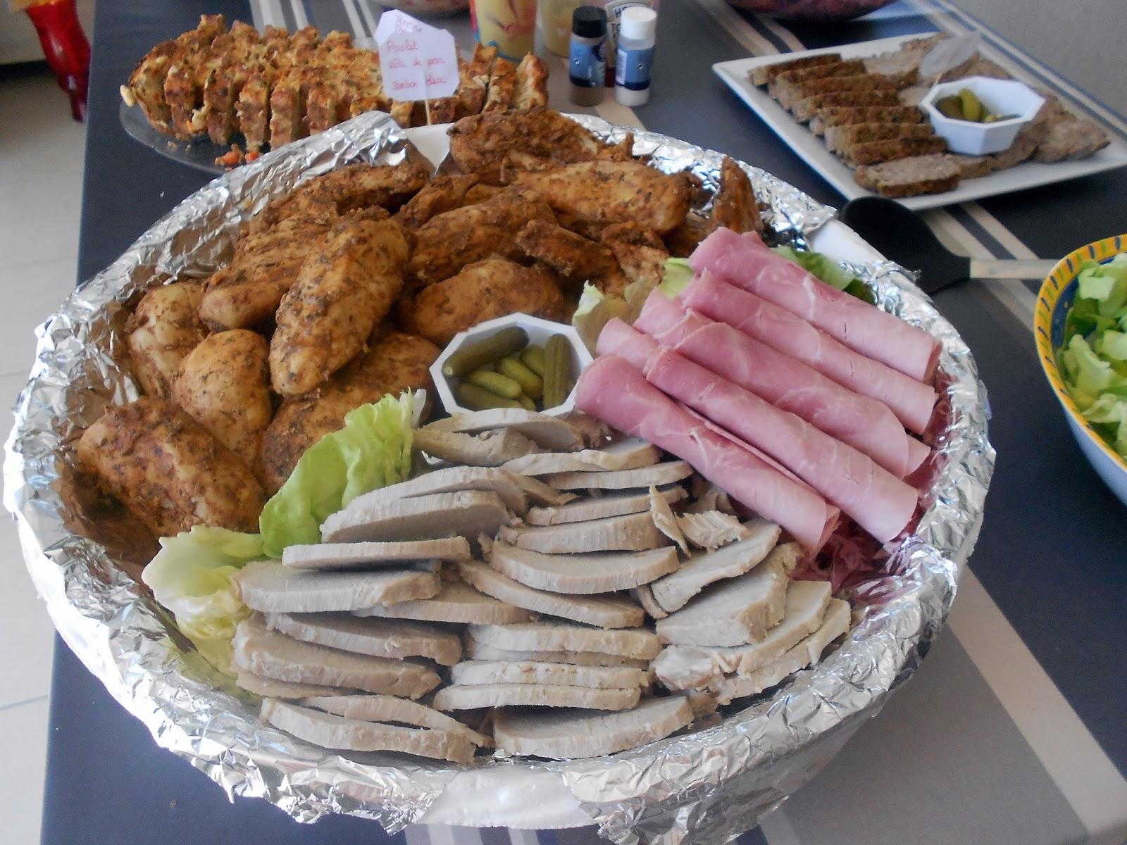 Dey cuisine faire un buffet froid 1 les viandes charcuterie - Idee de sandwich froid ...