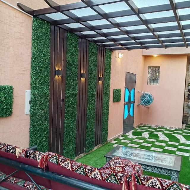 شركة تنسيق حوش المنزل بالقطيف تنسيق حدائق منزلية في القطيف تنسيق حدائق فلل القطيف