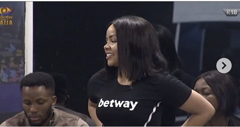 #BBNaija2020 : See The First Housemate To Win Head Of House Challenge (Video)