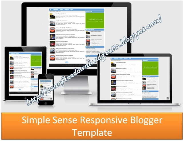 Download Simple Sense Responsive Blogger Template 2016 - Blogger ...