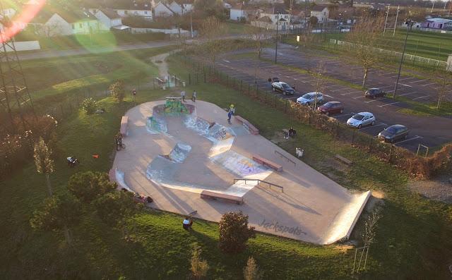 Skate park Herblay