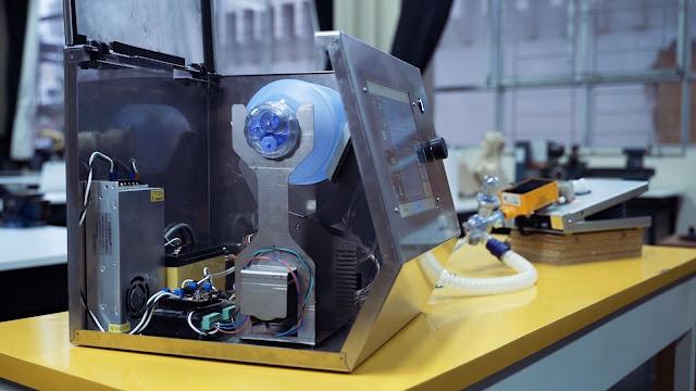 Fundación Telefónica, respirador mecánico