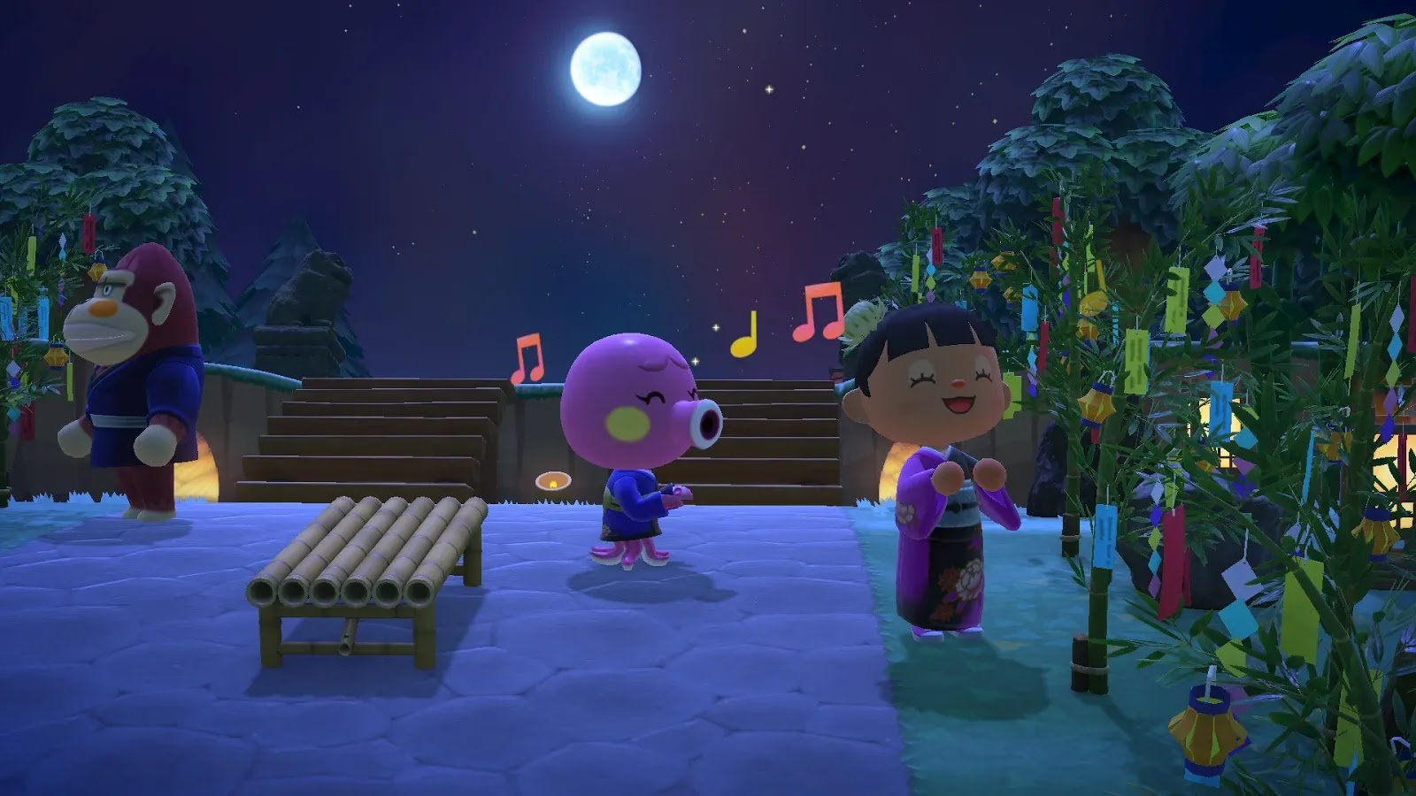 Animal Crossing: New Horizons (Switch) ganha item especial para comemoração do Tanabata
