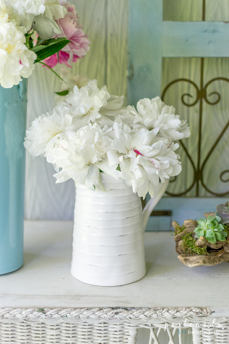 5 Simple Summer Decorating Ideas - Postcards from the Ridge