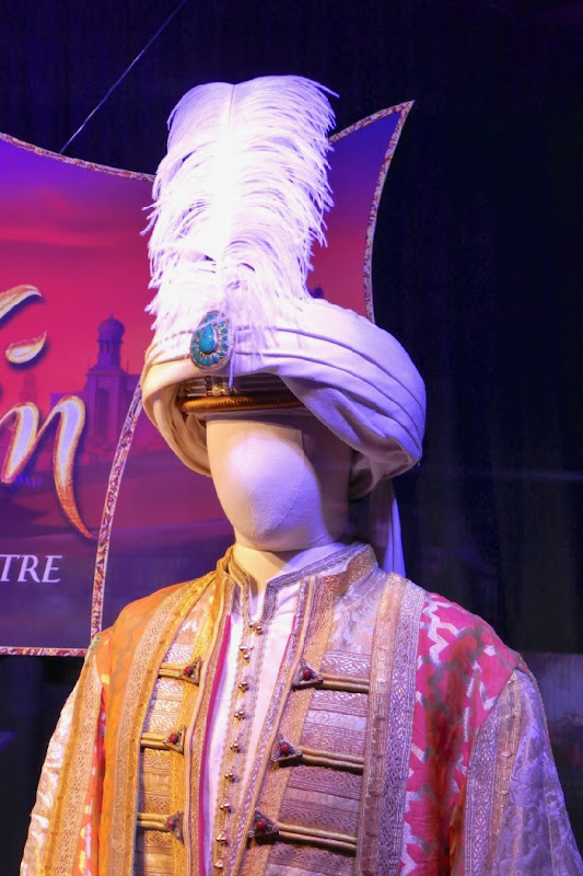 Aladdin Sultan costume detail