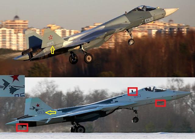 مقاتلة SU-57  الدرون Okhotnik