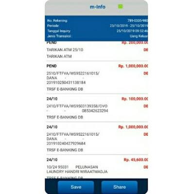 cara cetak ulang bukti transfer bca lewat mobile banking