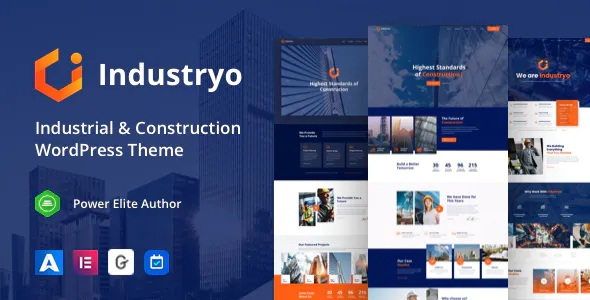 Best Industrial and Construction WordPress Theme