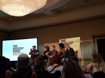 The Makeup Show Orlando 2018 panel discussion - www.odenmakeup.com