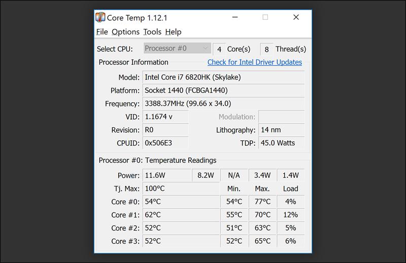 برنامج-Core-Temp