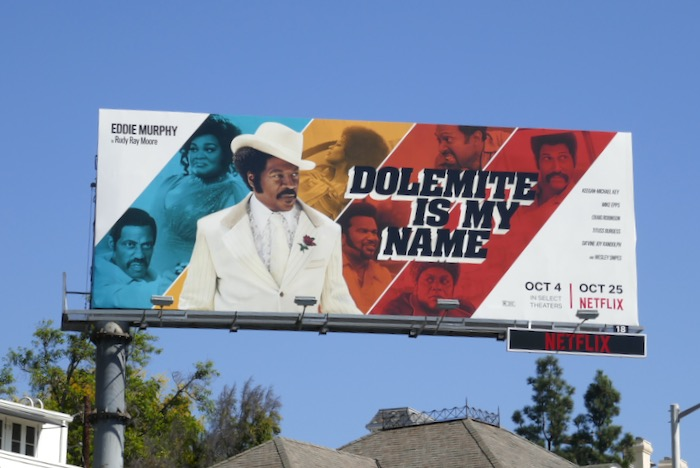 Dolemite Is My Name movie billboard