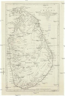 Ceylon Charter Map