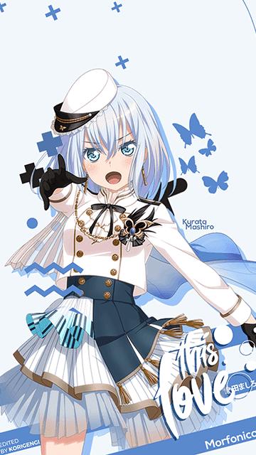 Kurata Mashiro - BanG Dream! Wallpaper