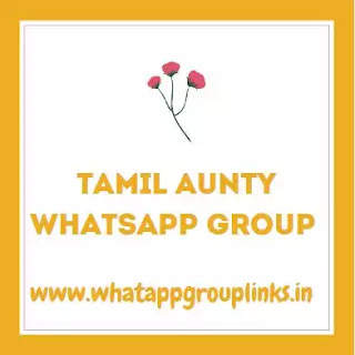 Tamil Aunty whatsapp group join link fence